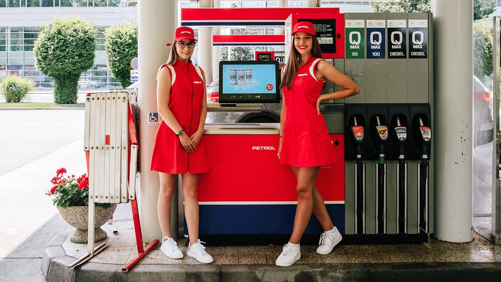Petrol Media - HipTerminal na bencinskem servisu
