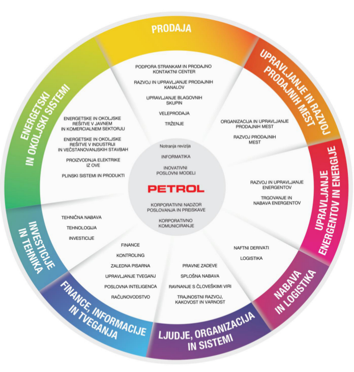 Organizacijska struktura Petrol